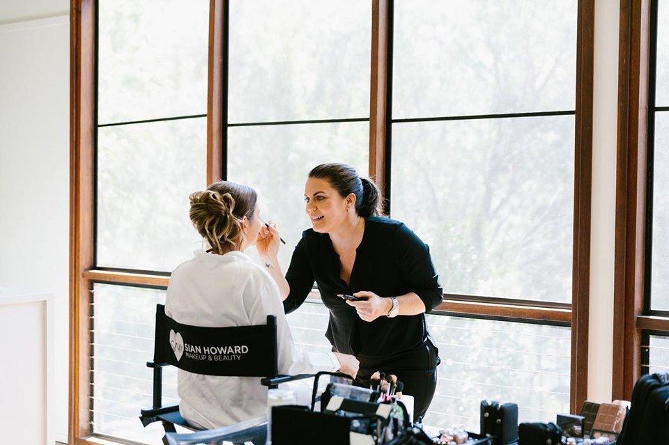 studio makeup artist